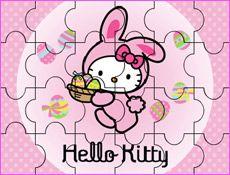 JuegosKitty.com - Juego: Puzzle Hello Kitty Bunny - Juegos Gratis Infantiles
