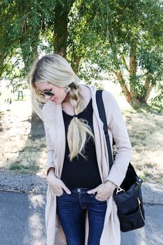 Black and Tan Basics Barefoot Blonde by Amber Fillerup Clark
