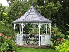 victorian gazebo | Victorian Gazebo, Diameter 350cm. Easily Erected with no professional ...