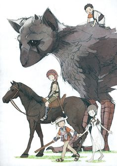 Team ICO games: ICO ~ Shadow of the Colossus ~ The Last Guardian.