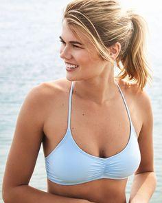 a45d5d37463e5 La Vie en Rose | Sporty Bralette Bikini Top Swimsuits, Bikinis, Swimwear,  Sporty