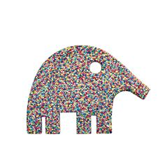 Mother Elephant by Nadim Karam
