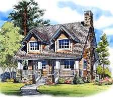 mountain cottages - Mountain Cabin Plans