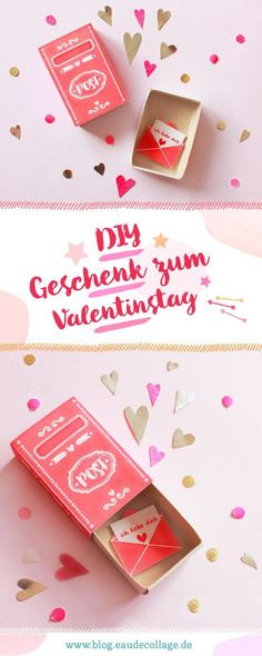 Elegante Valentinstag-Geschenke pro do-It-Yourself. Valentinstag Geschenke-Do it yourself-Va. Diy Gifts For Christmas, Diy Gifts For Kids, Gifts For Family, Fun Valentines Day Ideas, Valentines Diy, Valentine Day Gifts, Printable Valentine, Free Printable, Presents For Boyfriend