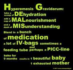 recipe for hyperemesis gravidarum, use how and where you want. Just keep the copyright line in the bottom.