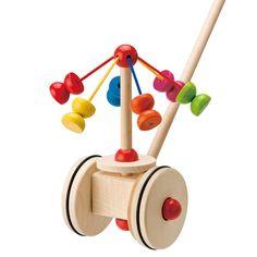 【楽天市場】【Selecta セレクタ社(ドイツ)】手押し・メリーゴーランド(1才から)(お誕生日 1歳 男(男の子)/お誕生日 1歳 女(女の子)/木のおもちゃ/木製玩具/知育玩具/木/おもちゃ)【楽ギフ_包装】【RCP】:木のおもちゃ 木こりのおもちゃ箱