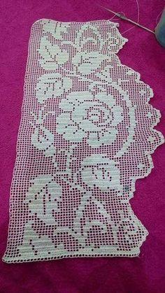 Karoo Vintage MAL Crochet pattern by Jen Tyler Easy Crochet, Crochet Lace, Free Crochet, Crochet Borders, Crochet Stitches, Doily Patterns, Crochet Patterns, Crochet Placemats, Fillet Crochet