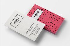 Business card design for Momobox