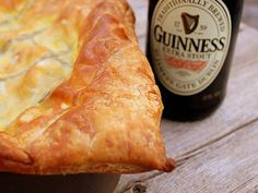 We had discussed making a Hopetoun steak and ale pie in the future. Can we take a shot like this just in-case this does go ahead? Use a bottle of each of our ales if we're not sure which one may be used! Steak And Guinness Pie, Guinness Pies, Guinness Recipes, Irish Recipes, Pie Recipes, Great Recipes, Cooking Recipes, Favorite Recipes, Irish Meals