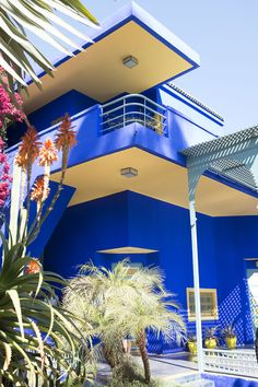 the jardin majorelle - a must see in marrakech | via coco kelley