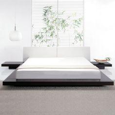 (11) Fab.com | Worth Bed E-King Wenge/White