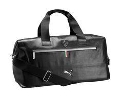Puma Ferrari Weekender Black Duffle Bag Backpack PMMO1040-BLK #Puma #Backpack