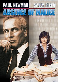 Absence of Malice NEW FIELDS NEWMAN FREE SHIPPING TRACKING CONT US