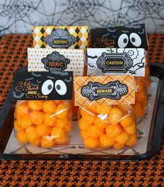 Cheese balls for a little no sweet treat...for adults and kids!