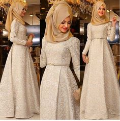I don't wear a hijab but this dress is so pretty