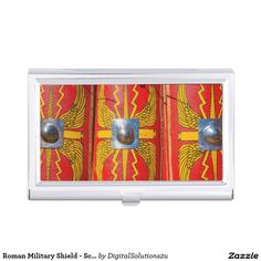 Roman Military Shield - Scutum Business Card Holder