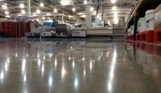 With a fleet of highly effective diamond polishing machines we are able to tackle any size of concrete floor polishing contract. Polished Concrete, Concrete Floors, Cement, Warehouse, Flooring, Derby, Projects, Diamond, Ideas