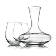 Williams-Sonoma Reserve Stemless Red Wine Glasses & Decanter Gift Set 31 Best Gifts For Housewarming Party 2017 - Gifts buzz