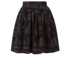 Orla Kiely - Oak Tree Wool Jacquard Skirt
