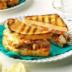 ... & Caramelized Onion Grilled Cheese Recipe -My grilled cheese
