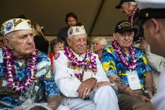PEARL HARBOR, Hawaii (AP) — Veterans who survived the Pearl Harbor attack gathered for the 73rd anniversary of the Japanese bombing that launched the United States into World War II. About 100 Pear...
