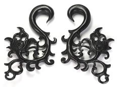 THE STRATUM Wholesale Horn Hanger Organic Body Jewelry 14g - 00g - Price Per 1 :: Plugs Body Jewelry :: Painful Pleasures, Inc.