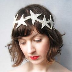Starlette Crown Diamond now featured on Fab. (Giant Dwarf).  So pretty!