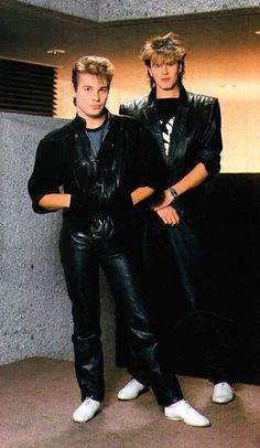 They might be guys, but they belong here. Holy Duran full leather 1983 full glory! We were all there.