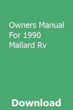 Pin by Mobile RV Glass on Mallard RV | Recreational vehicles