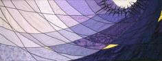 """Lenten altar cloth """"The Many Facets of Repentence"""" designed and created by Connie Backus-Yoder."""