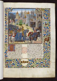 L'armée du duc de Bourgogne rentre chez elle après avoir combattu en Artois. Époque où l'on avait le royaume de Bourgogne d'en deçà (Bourgogne-Franche-Comté) et d'en delà (Flandre-Artois). Les ducs s'occupaient de mater les Flandres souvent en révolution et leurs femmes s'occupaient de l'administration de la Bourgogne-Franche-Comté.