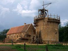 Le Chantier Médiévale de Guédelon – la deuxième partie - Learn French #learn #french #travel #france