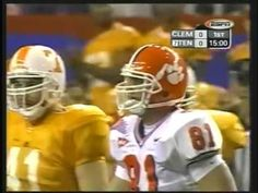 2004 Clemson vs Tennessee Peach Bowl Football Game 2003 Season