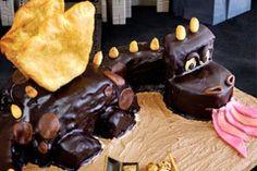 Chocolate dragon by Joanna Niedobecka Chocolate Lovers, Dragon, Pudding, Baking, Comfort Zone, Cake, Desserts, Recipes, Food