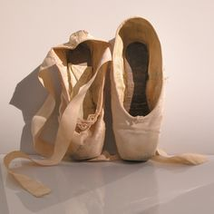 Ballerina Pointe Shoes: One of Gelsey Kirkland & One of Natalia Makarova