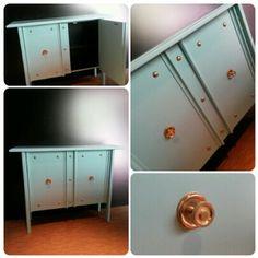 Mueble de estilo #vintage original y restaurado.