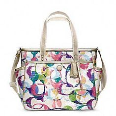 Coach :: Baby Bag Stamped c Tote