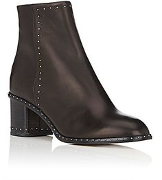 Rag & Bone Studded Willow Leather Ankle Boots - Boots - 504906905