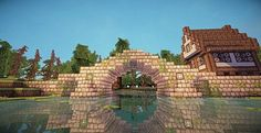 really like the texture pack!!! bridge is cute lol