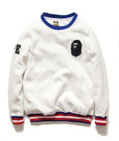 Golf Fashion Stlyle Bape A Bathing Ape Jacket golf Sweater -yeezy replicas clothing - Style: Bape Hoodie, Jacket Size Type: Regular Brand: Bape Material: Cotton Pullover Hoodie, Sweater Hoodie, Hoodie Jacket, Men Street, Street Wear, Bape Outfits, Men's Outfits, Stylish Outfits, Polo Sport