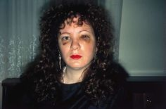 Nan Goldin Nan One Month after Being Battered 1984 Chibachrome print Dimensions variable