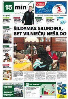 15 min (2005-2009), Lithuania (non-daily afterwards) Newspaper Cover, Lithuania, Comic Books, Comics, Free, Roping Saddles, Cartoons, Cartoons, Comic
