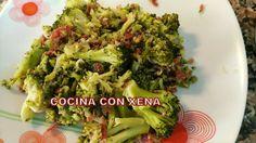COCINA CON XENA: Brócoli con jamón en Gm D, E, F y Tradicional