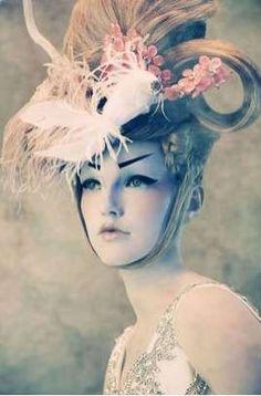 AMATO HAUTE COUTURE By Tina Patni Porcelain Geisha Doll Shoot ..... Look #9