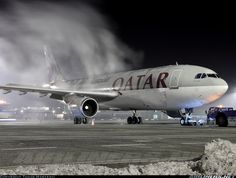 Qatar Airways Vargo A7-ABY Airbus A300B4-622R(F) aircraft picture