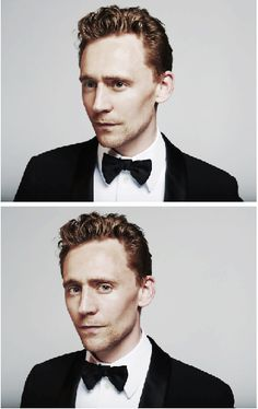 Tom Hiddleston...look at those cheekbones!