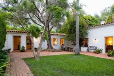 Marilyn Monroe's Brentwood house at 12305 5th Helena Drive, Los Angeles, CA 90049.