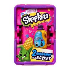 Shopkins Season 2 Two Shopkins in a Basket  #MooseToys Shopkins Season 2 Basket with two random mini-figures.        Collect them all.       Styles may vary from image