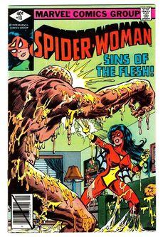 http://www.kidstoysonlineshopping.com/category/infantino/ from $2.99 - Spider-woman #18 #Marvel #Comics Bronze-age Sins Of Flesh! Infantino Vf 9.0