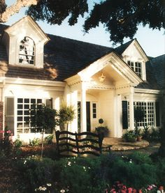 Beautiful Exterior Detailing - photo via Custom Home Magazine